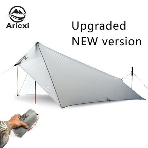 Arixci Ultralight Rain Fly Tarp Tent Waterproof 15D Silicone Coated Nylon