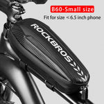 Rockbros Bicycle Bag Waterproof Cycling Top Front Tube Frame Bag Large Capacity