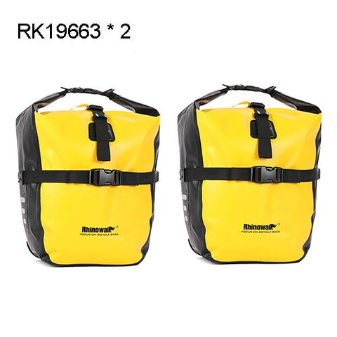 Rhinowalk 2 Pieces 20L Bicycle Pannier Bike Bag Waterproof