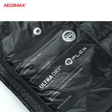 AEGISMAX Men Ultra-Light 95% White Goose Down 800FP Down Outdoor Camping Keep Warm Down Jacket