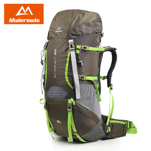 Maleroads Professional 70L Camping Hiking Backpack