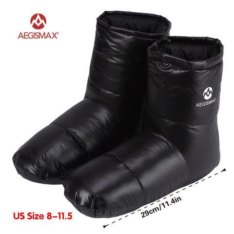 AEGISMAX Sleeping Bag Accessories Duck Down Slippers