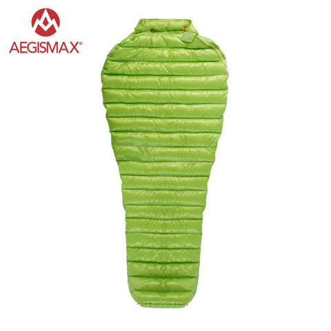 AEGISMAX Outdoor Camping Ultralight 95% Goose Down Mummy Sleeping Bag