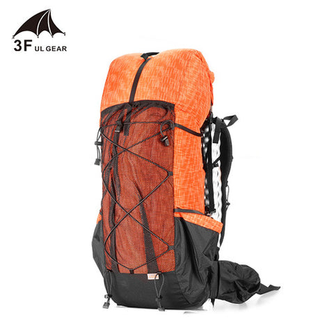 3F UL Gear Water-Resistant Hiking Backpack Camping Mountaineering Backpacking Trekking Rucksacks 40+16L
