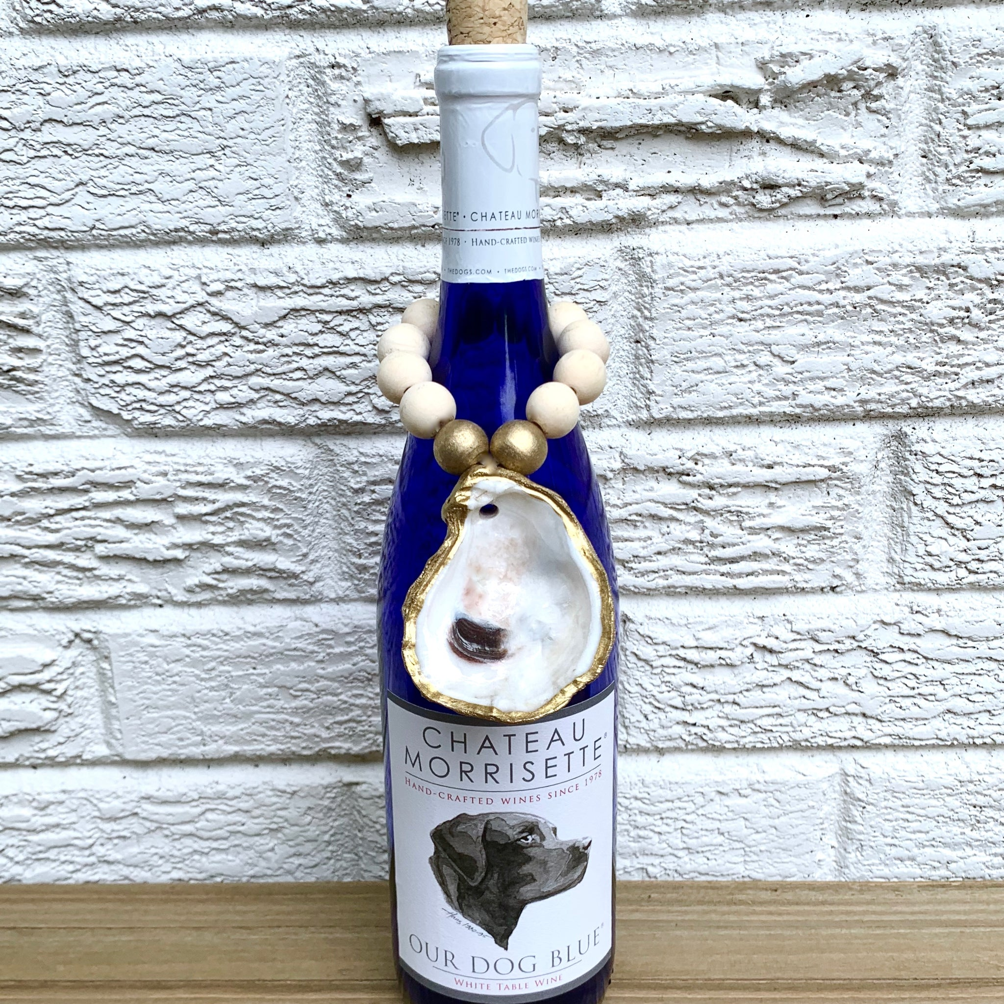 Oyster Shell Wine Bottle Accessories