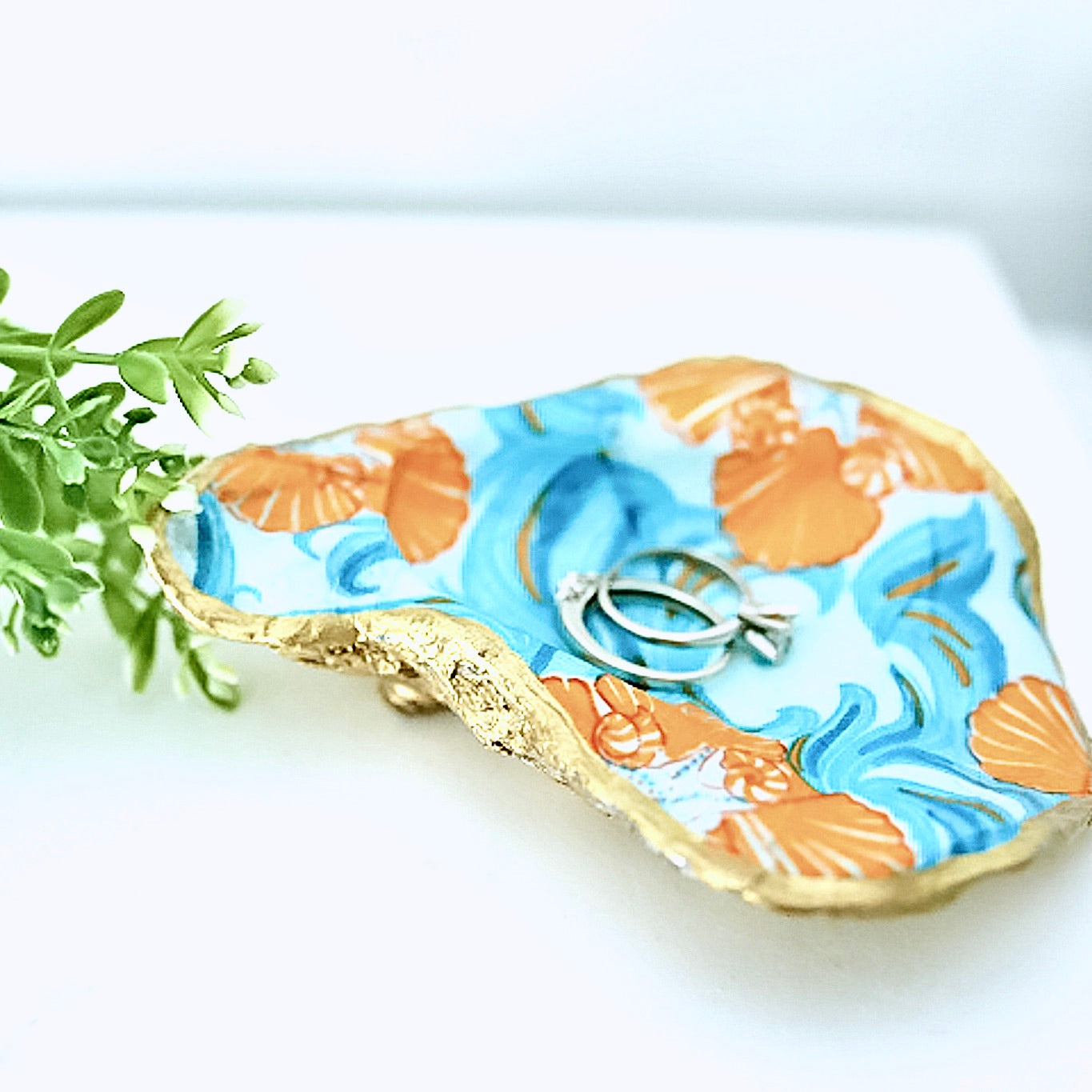 Oyster Shell Ring Dish
