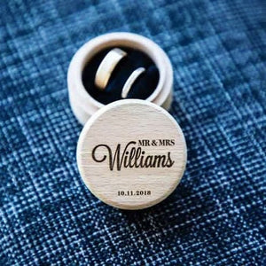 The Williams Wedding Ring Box