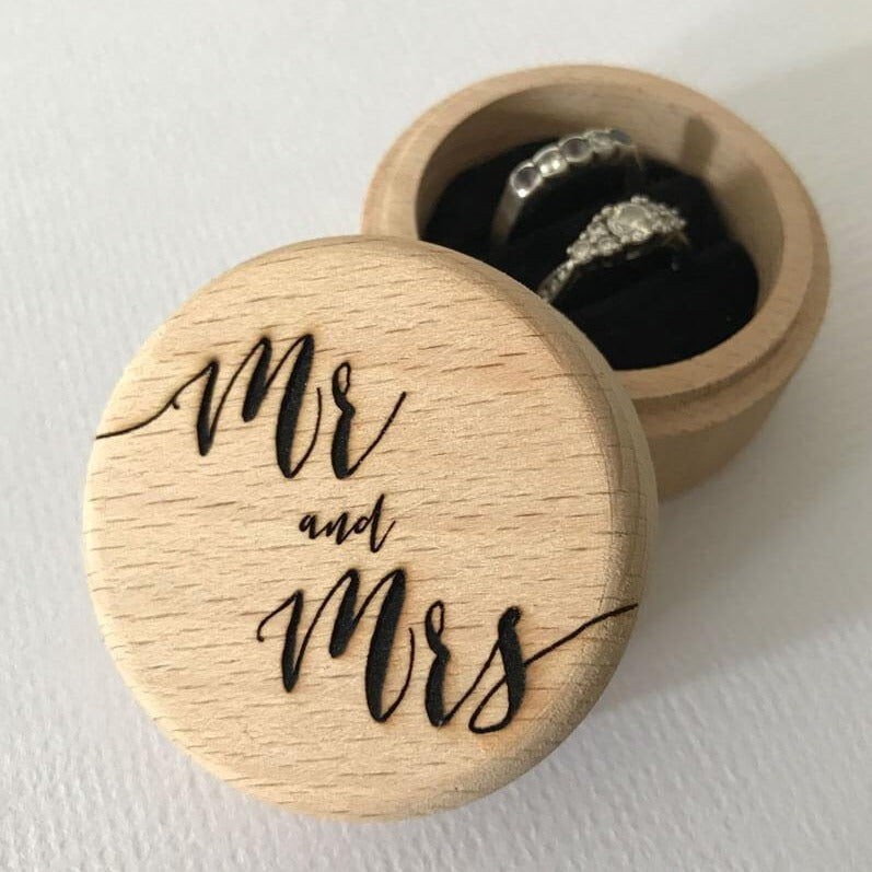 Mr & Mrs Ring Box