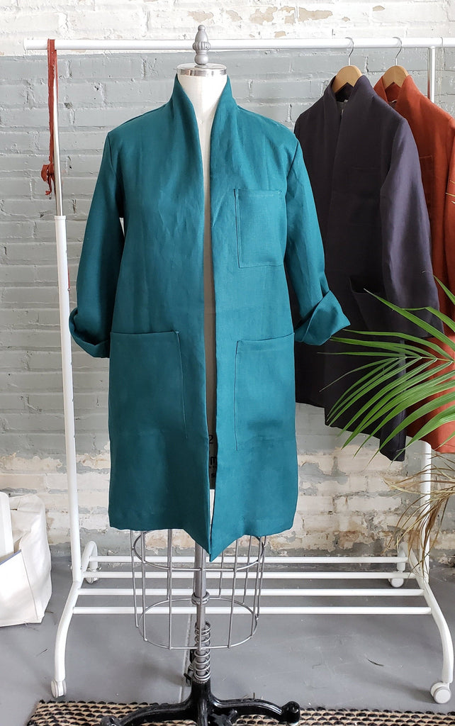 INGRID labcoat, Teal