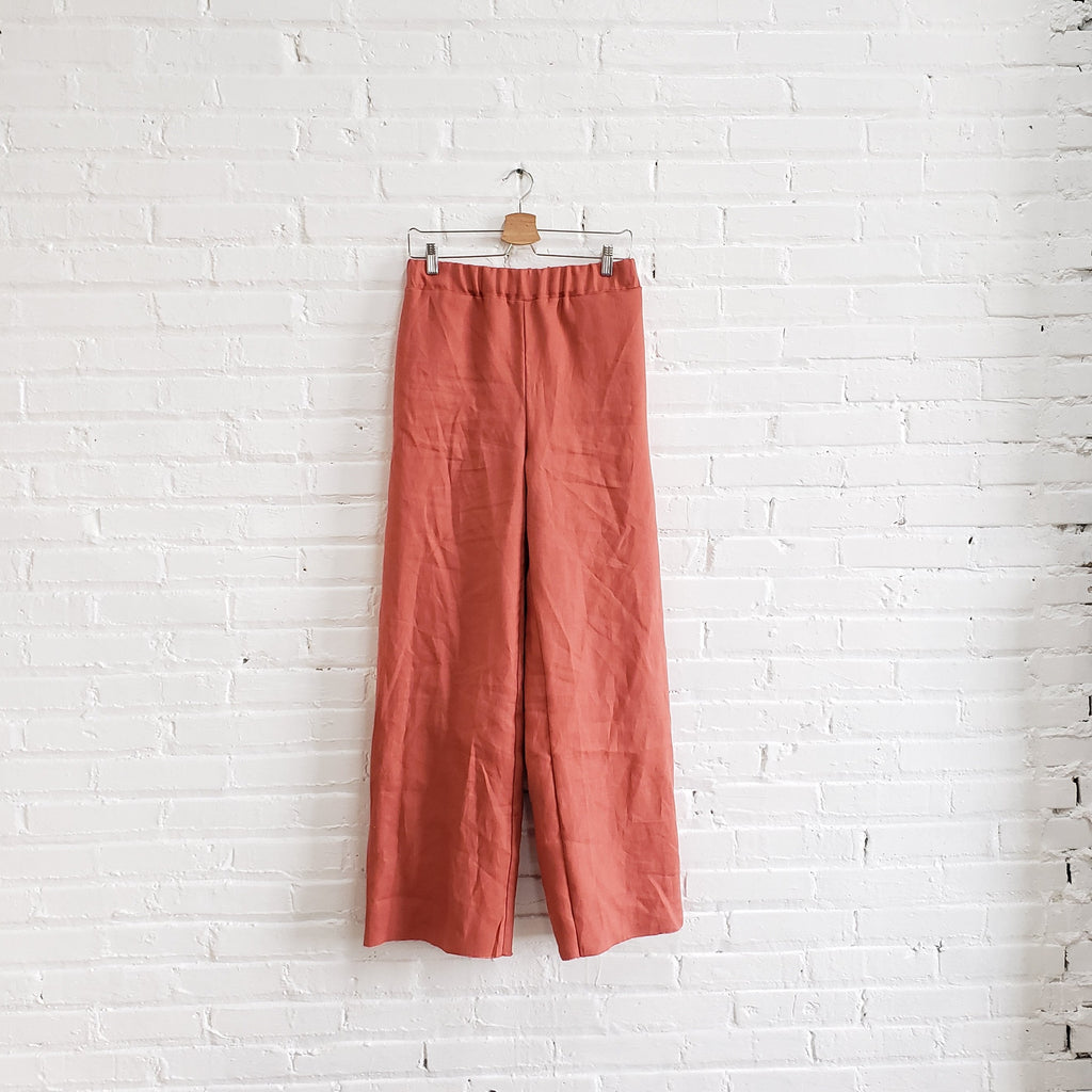 Blythe Pant, salmon, size Medium
