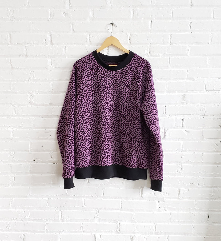 Sweatshirt, Purple