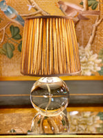 Terri Round Accent Lamp in Crystal