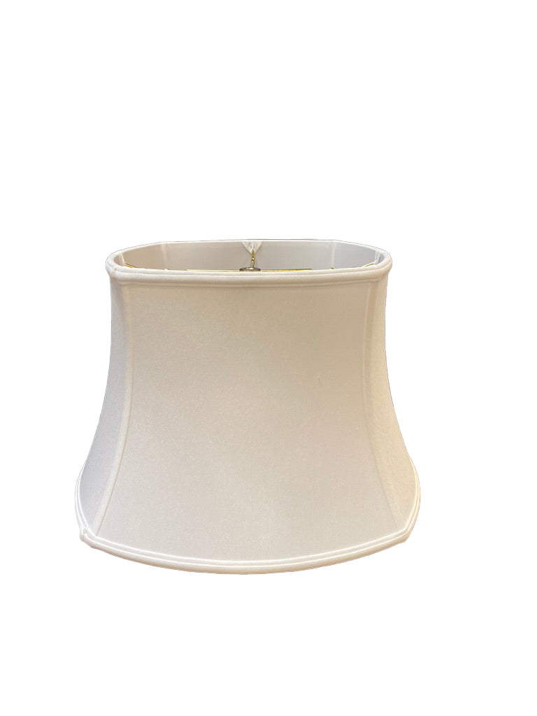 Slubless Antique Rounded Square Bell Lampshade