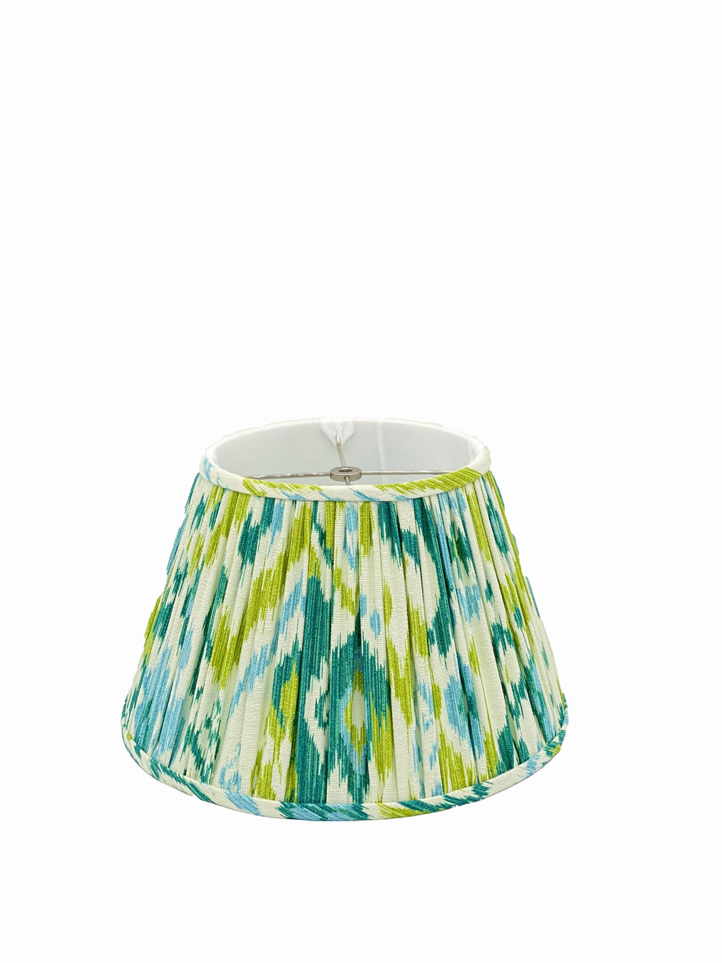 Bespoke Blue/Green/Teal Gathered Empire Lampshade