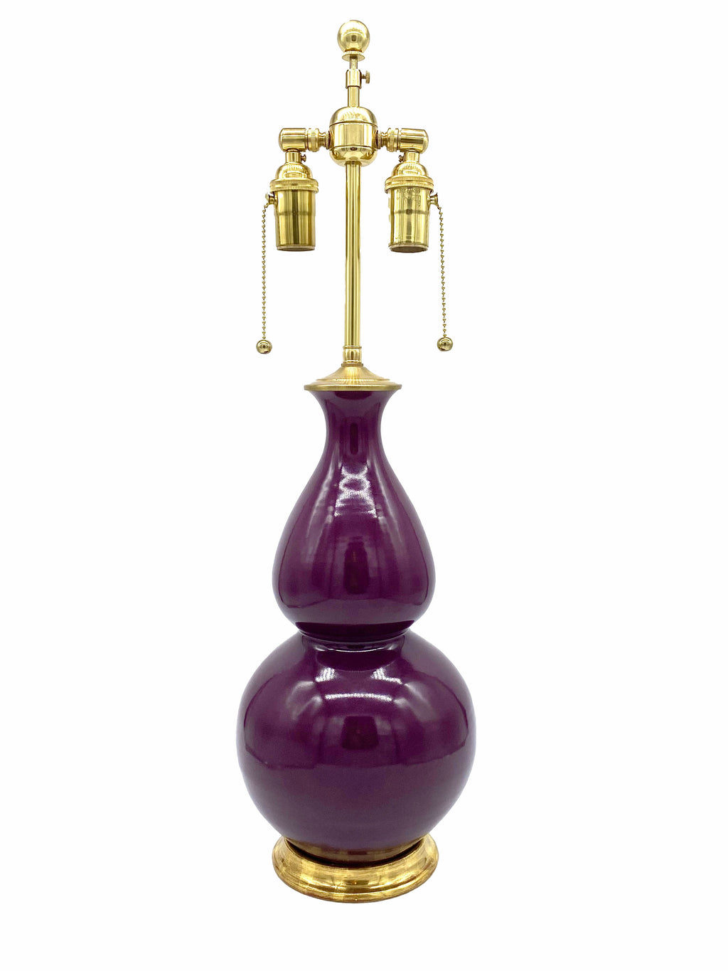 Christopher Spitzmiller Medium Double Gourd Lamp