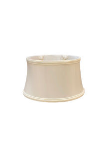Corsette Short Oval Bell - Ivory Lampshade