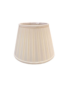 Silk English Box Pleat Lampshade