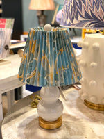 "Pleated Empire - Tamarind 10"" Lampshade"