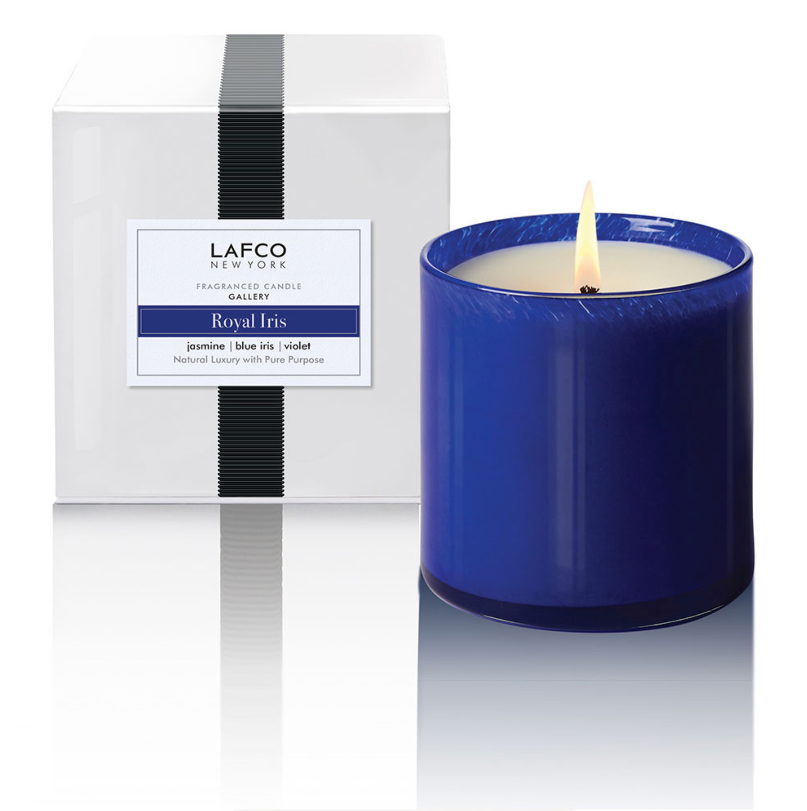 Royal Iris - Gallery Candle