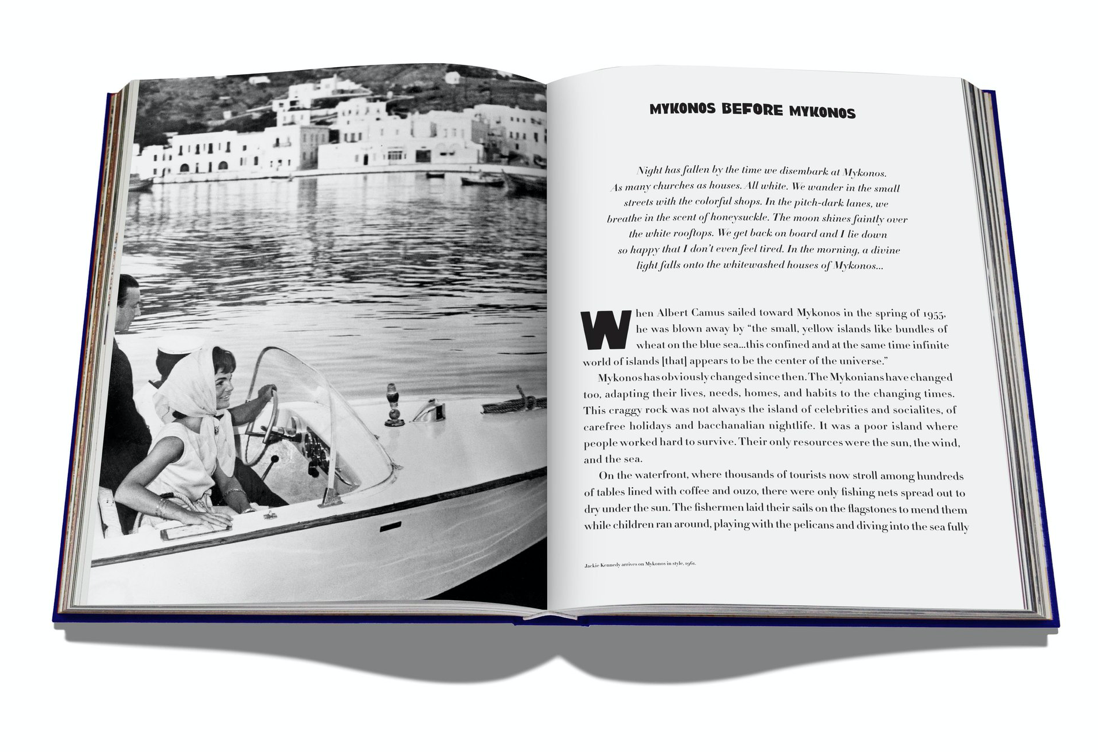 Mykonos Muse - Coffee Table Book