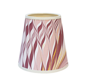 Pink and Yellow Star Anise Small Empire Lampshade