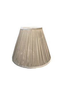 Silver Gathered Empire Lampshade