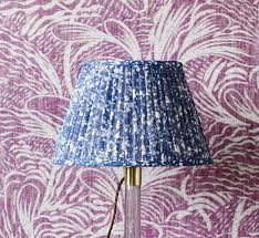 Fermoie Blue Quartz Lampshade