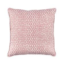 Fermoie Small Square Cushion in Pink Rabanna