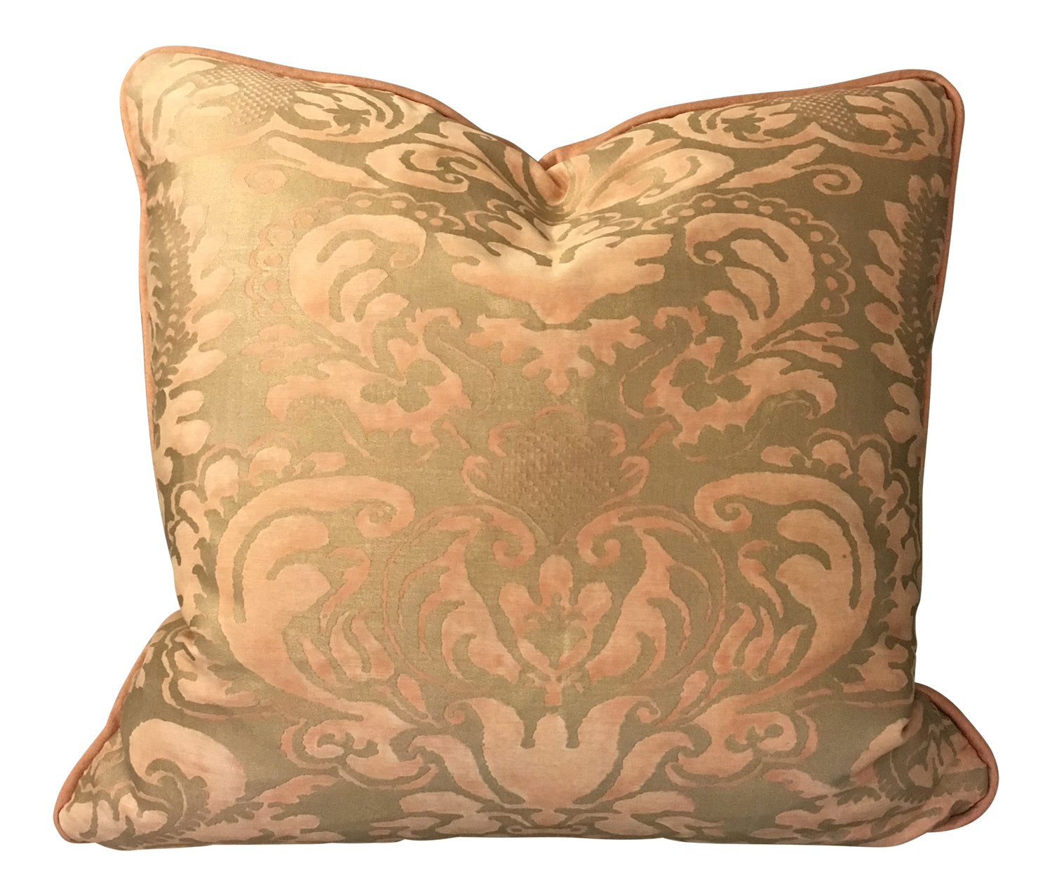 Fortuny Pillow - Sevigne Melon