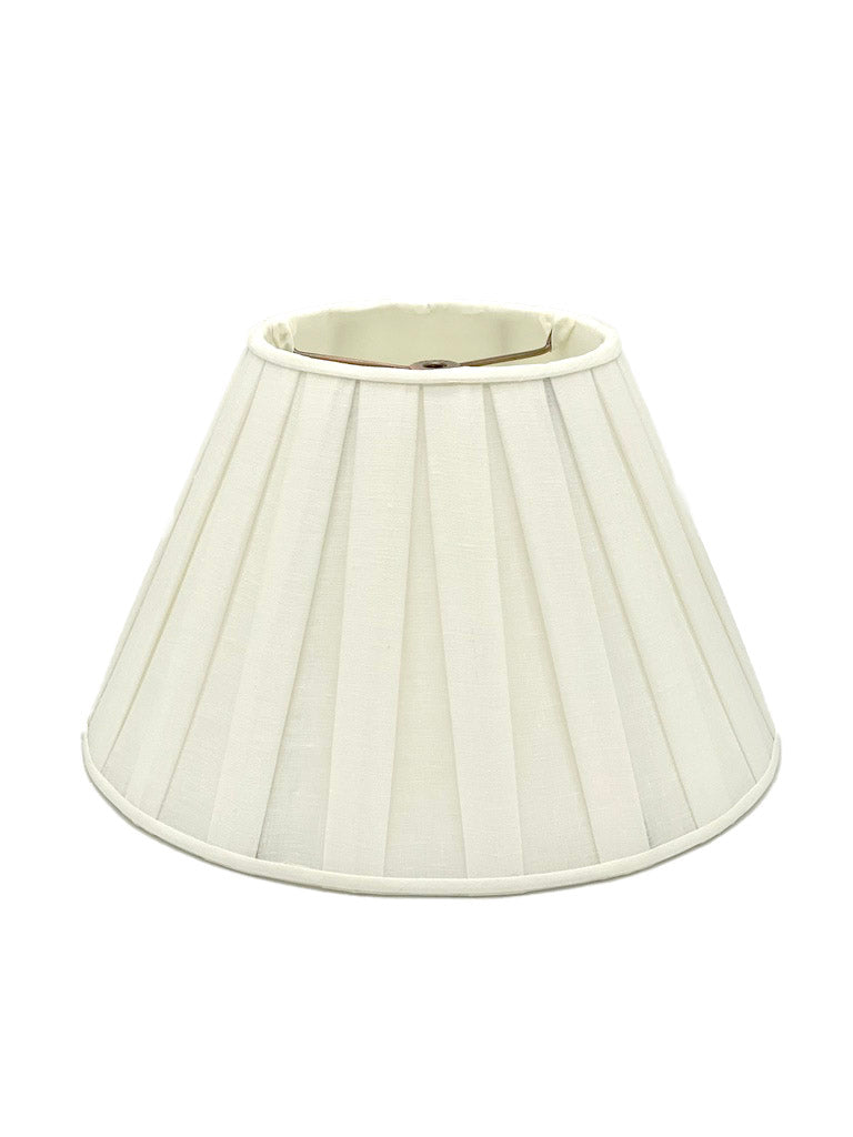 Empire Linen Box Pleat Lampshade