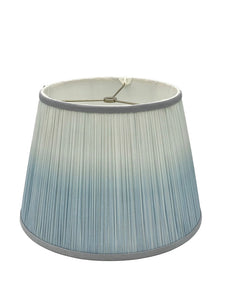 Ombre Shirred - Blue Lampshade