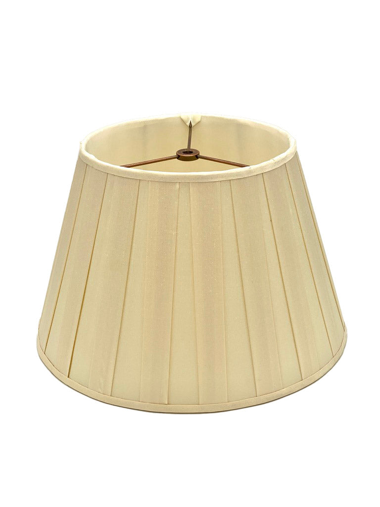 Pembroke Box Pleat Silk Lampshade