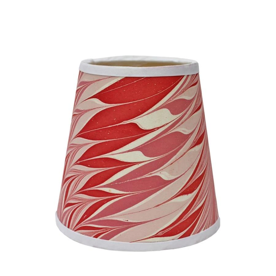 Pink and Red Star Anise Medium Plus Empire Lampshade