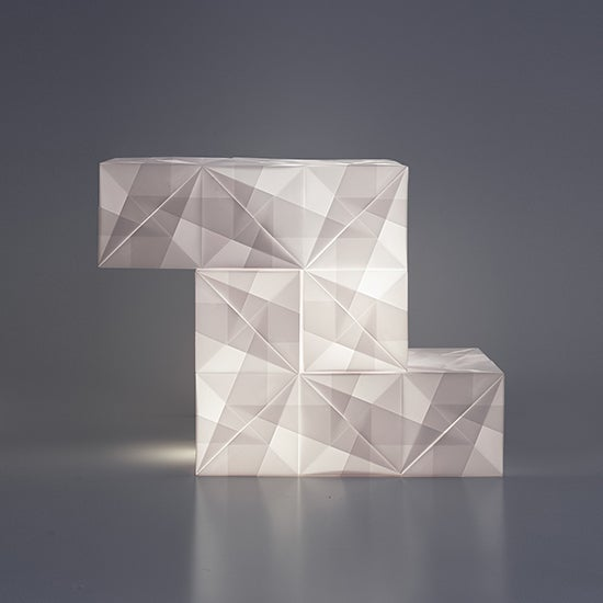 The Snooze Tetris Lamp - by Annette Sandøy Kristiansen
