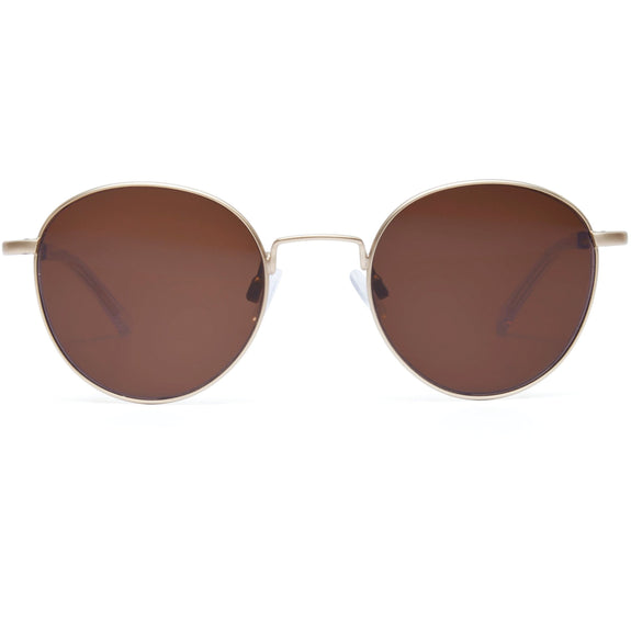 Sunglasses A Scandinavian in Scandinavia Golden/Blond- Kaibosh Eyewear