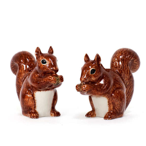 Squirrel Salt And Pepper- by Quail Ceramics