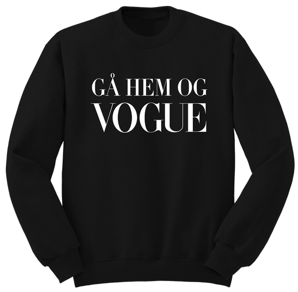 Gå Hem Og Vogue Sweatshirt - by Higren