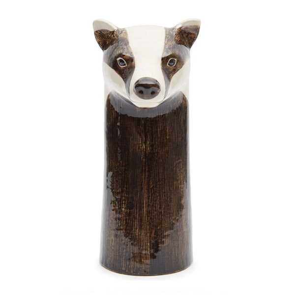 Badger Flower Vase - by Quail Ceramics