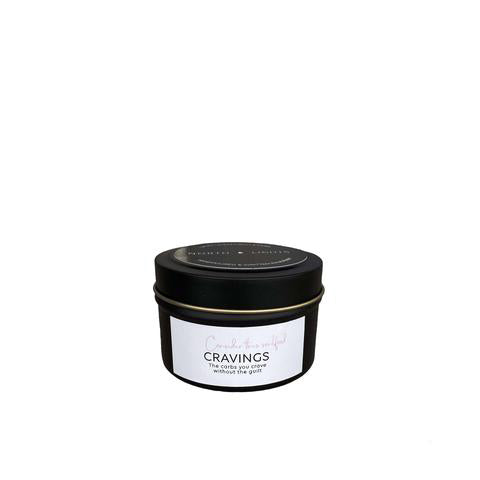 Cravings Scented Candle Travel Size - By North and Lights