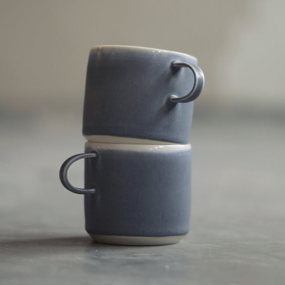Coffee Cup Grey - By To komma Fire Kvadrat