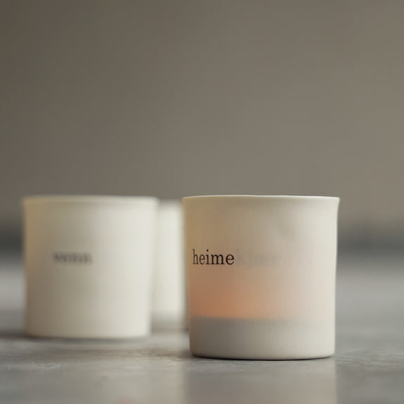 Tea Light Holder; heime(kjær)- By Mijo Design