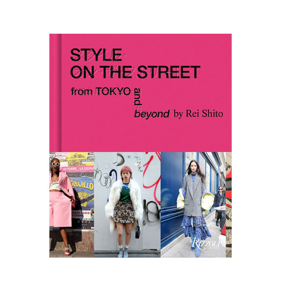 Style On The Street Tokyo - By Rizzoli