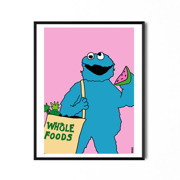 Print of Cookie Monster - By Wehus Design