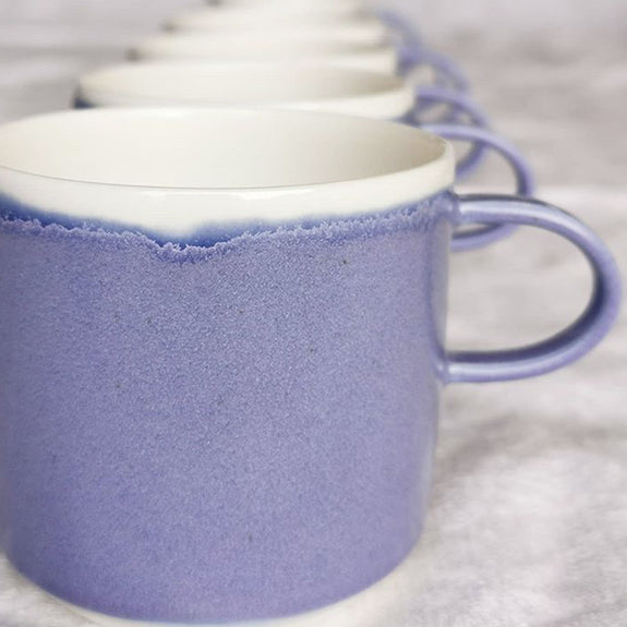 Coffee Cup Lavender - By To komma Fire Kvadrat