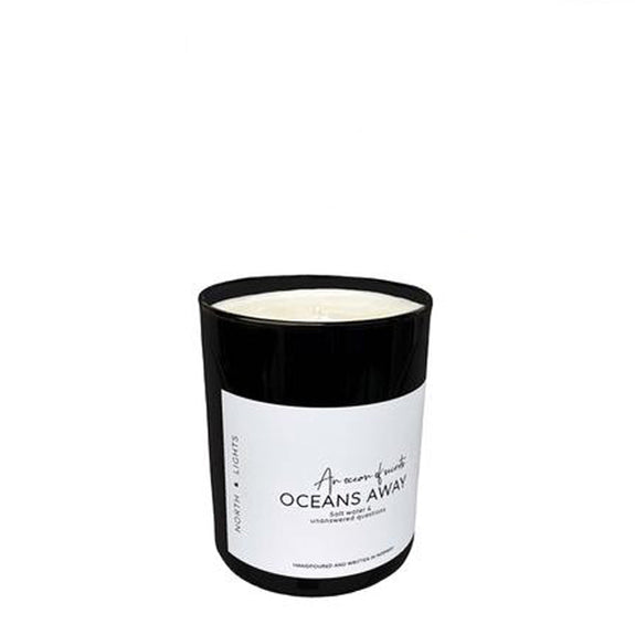 Scented Candle Ocean Away - By North and Lights