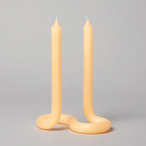 Twisted Candles Peach - By Lex Pott