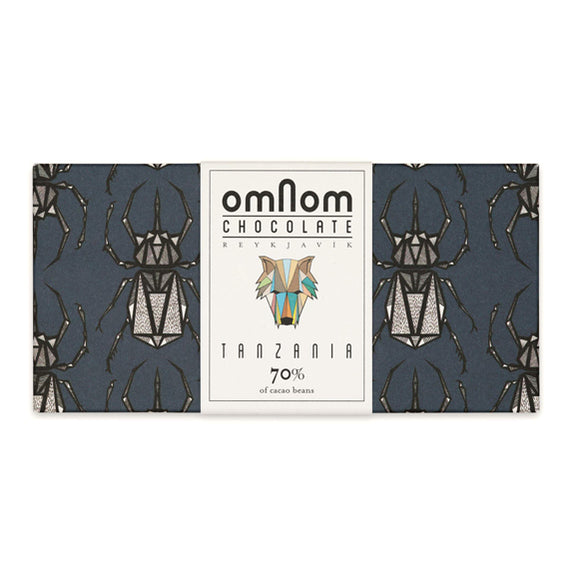 Tanzania 70% Chocolate Bar - By OMNOM
