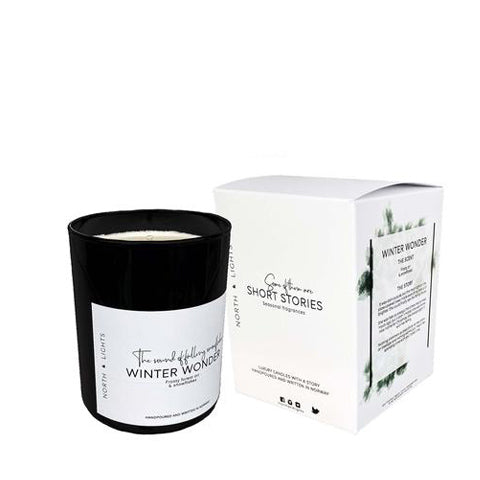 Scented Candle Winter Wonder - By North and Lights