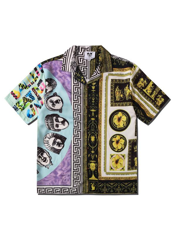 Men Fashion Ethnic Style Summer Shirt