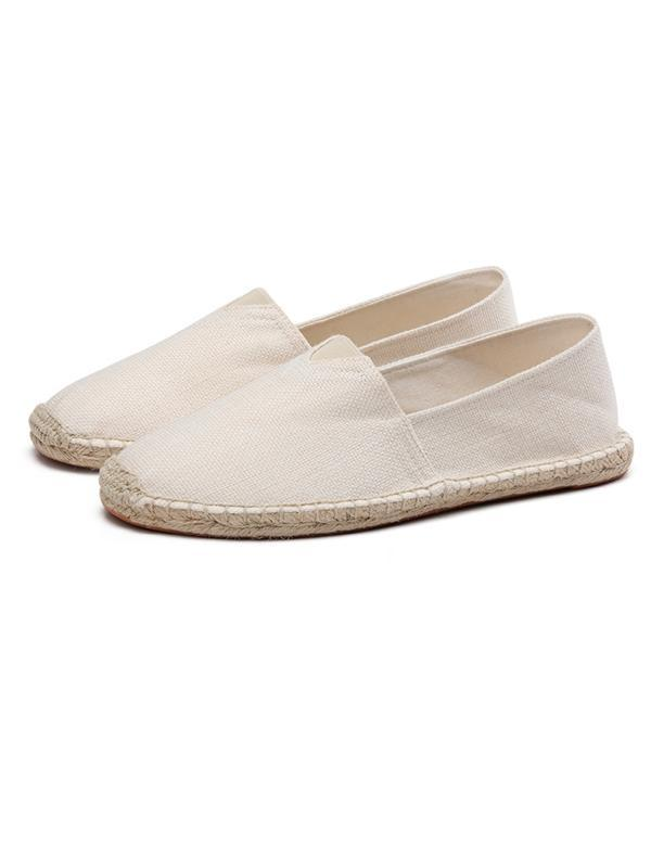 Solid Slip On Casual Shoes